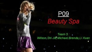 P 09 Beauty Spa Team 5 Wilson Shi