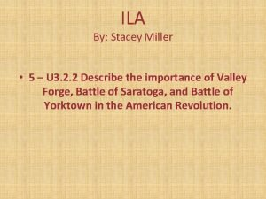 ILA By Stacey Miller 5 U 3 2