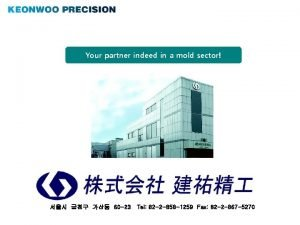 Your partner indeed in a mold sector 60