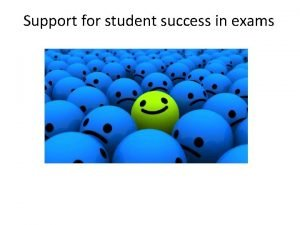 Support for student success in exams Our experts