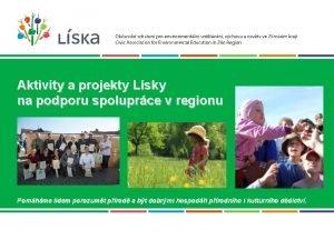Aktivity a projekty Lsky na podporu spoluprce v
