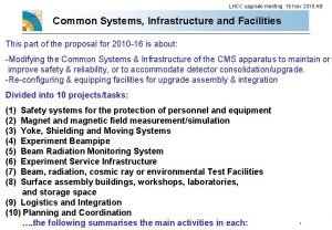 LHCC upgrade meeting 16 Nov 2010 AB Common