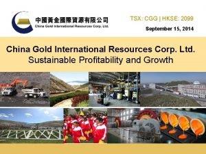 TSX CGG HKSE 2099 September 15 2014 China