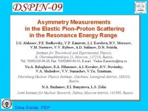 Asymmetry Measurements in the Elastic PionProton Scattering in