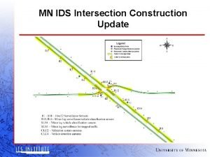MN IDS Intersection Construction Update MN IDS Test