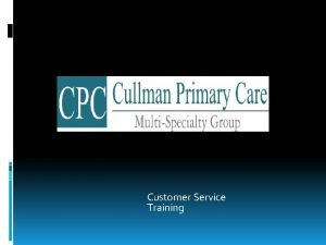 Customer Service Training What is customer service Customer