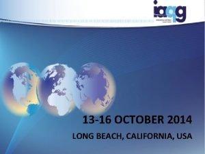 13 16 OCTOBER 2014 LONG BEACH CALIFORNIA USA