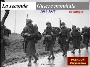 La seconde Guerre mondiale 1939 1945 5 KNA