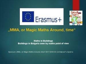 MMA or Magic Maths Around time Maths in