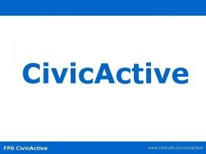 Civic Active FP 6 Civic Active www nsd