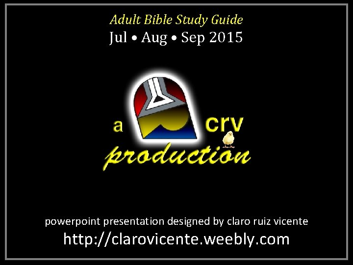 Adult Bible Study Guide Jul Aug Sep 2015