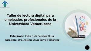 Taller de lectura digital para empleados profesionales de