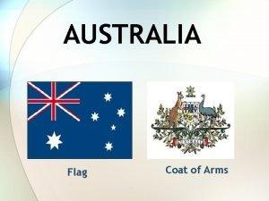 AUSTRALIA Flag Coat of Arms Basic information Capital