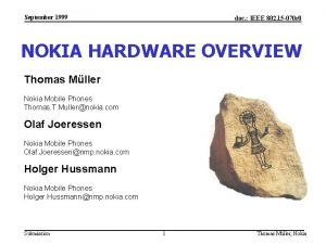 September 1999 doc IEEE 802 15 070 r