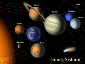 Gne Sistemi Gne Sistemi Tanm Gne 8 gezegen