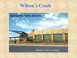 Wilsons Creek Principal Mrs Karyn Christy Ed D