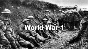 General Causes of World War I MAIN Militarism