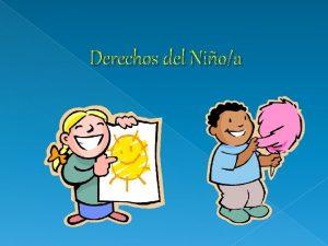 Derechos del Nioa Convencin sobre los Derechos del