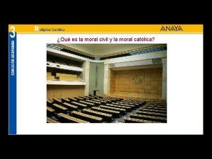 Qu es la moral civil y la moral