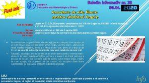 DRIMPAP Compartimentul Metodologie i Sintez Act normativ Legea