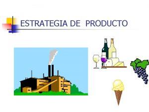 ESTRATEGIA DE PRODUCTO INDICE n POLITICA DE PRODUCTO