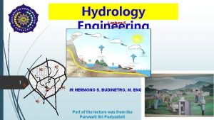 Hydrology Engineering Lecture 6 2 1 1 6