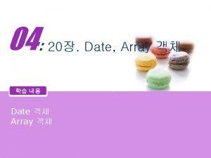 04 20 Date Array Date Array