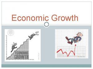 Economic Growth I Long Run Economic Growth Formulas