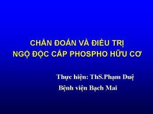 CHN ON V IU TR NG C CP