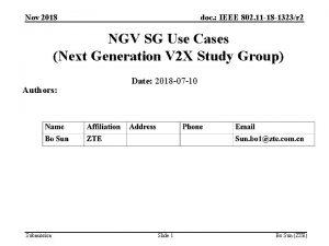 Nov 2018 doc IEEE 802 11 18 1323r