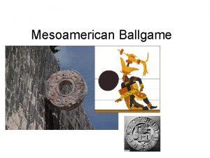 Mesoamerican Ballgame Ballcourt at Monte Alban Player and