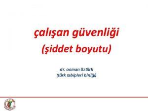 alan gvenlii iddet boyutu dr osman ztrk trk