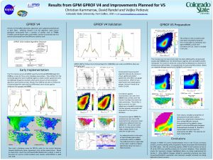 Results from GPM GPROF V 4 and Improvements