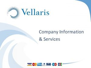 Company Information Services Table of Contents 1 Company
