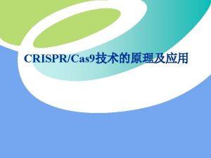 Cas 9 CRISPRCas PAMprotospaceradjacent motif NGG Cas 9KI