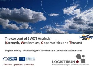 The concept of SWOT Analysis Strength Weaknesses Opportunities
