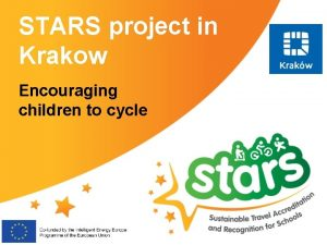 STARS project in Krakow Encouraging children to cycle