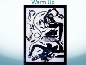 Warm Up The Transatlantic Slave Trade Essential Questions