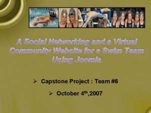 A Social Networking and a Virtual Community Website