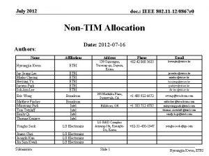 July 2012 doc IEEE 802 11 120867 r