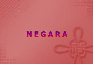 NEGARA DEFINISI Negara merupakan integrasi dari kekuasaan politik