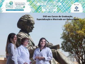 EAD nos Cursos de Graduao Especializao e Mestrado