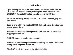 Instructions Upon opening the file if you see