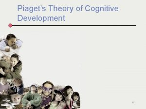 Piagets Theory of Cognitive Development 1 The Prefrontal
