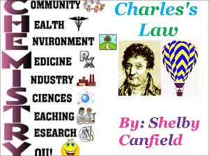 Charless Law By Shelby Canfield Biography His full