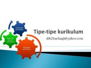 Correlated curriculum Tipetipe kurikulum dik 2 baehaqiyahoo com