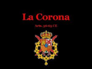 La Corona Arts 56 65 CE Sumario La