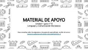 MATERIAL DE APOYO Unidad 1 gua n 15
