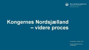 Kongernes Nordsjlland videre proces Hundested 5 oktober 2016