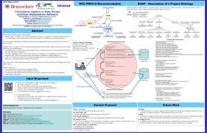 ESIP Winter 2014 W 3 C PROVO Recommendation
